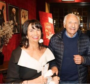 Giulio Rapetti Mogol con l'Avv. Maria Grazia Maxia